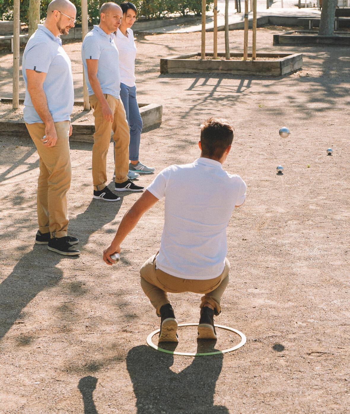 Jouez à la pétanque en club ou entre amis avec des boules compétition