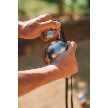 Magnetband für Boulekugeln