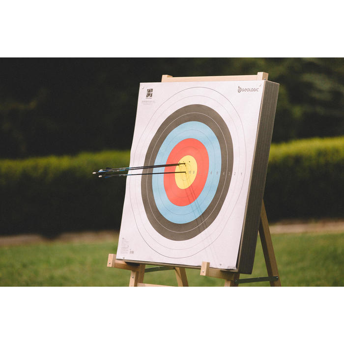 Zielscheibe Home Club 85×85 Bogensport Schaumstoff