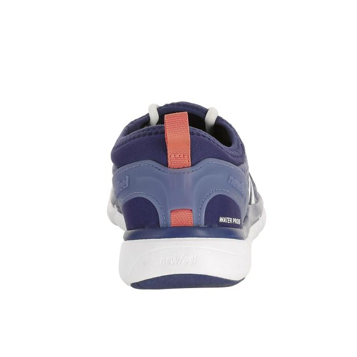 Chaussures marche sportive femme PW580 Waterproof marine / rose