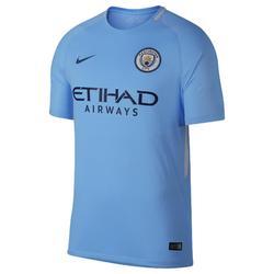 Voetbalshirt Manchester City thuisshirt 17/18 voor volwassenen blauw