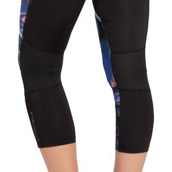 Energy Xtrem Women's Patterned 7/8 Cardio Fitness Leggings - Blue