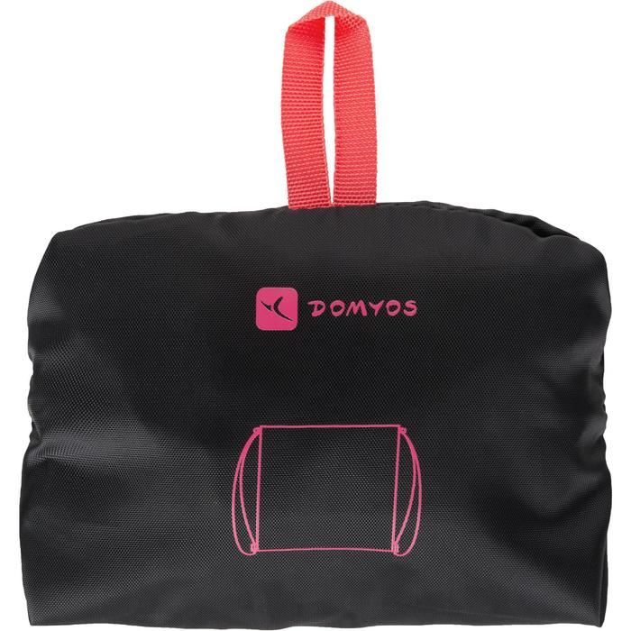 Mochila de cuerda Cardio Fitness Domyos calzado negro rosa