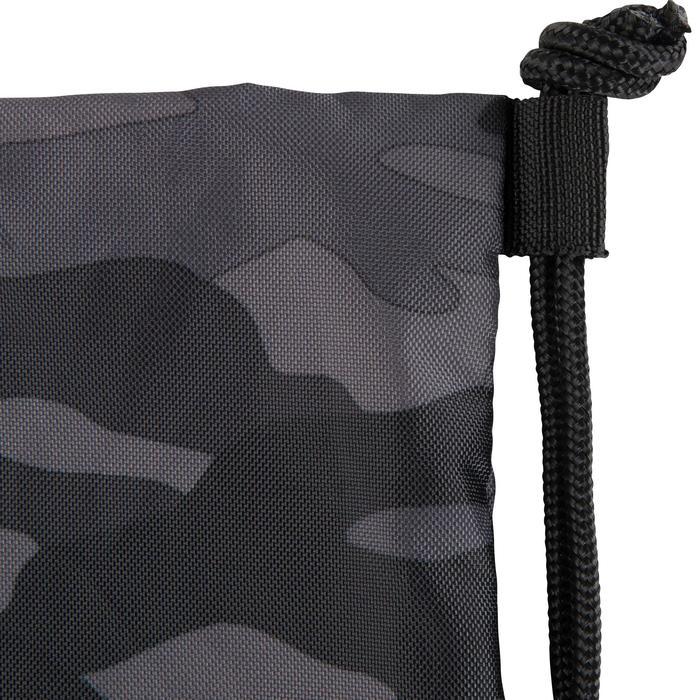 Opvouwbare schoenenzak voor de fitness camouflage