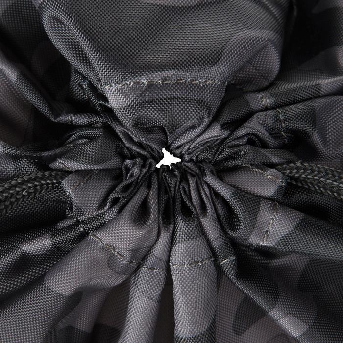 Sac chaussure fitness pliable noir et - 1212681