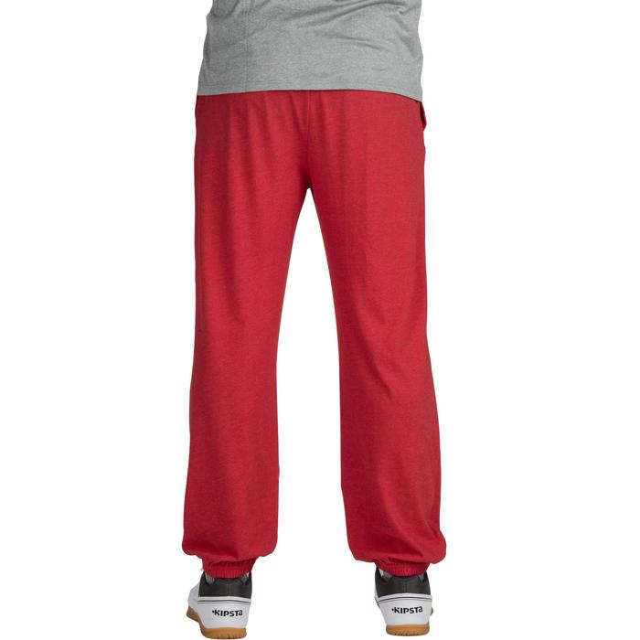 Pantalon volley-ball V 100 adulte rouge