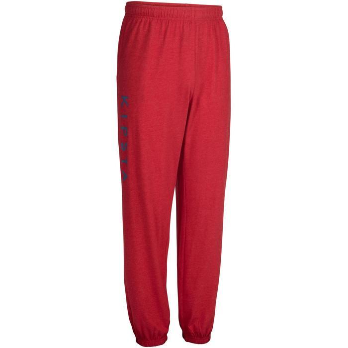 Pantalón voleibol V 100 adulto rojo