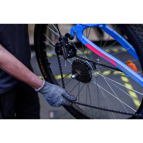 Changement d'une roue (avant ou arrière)