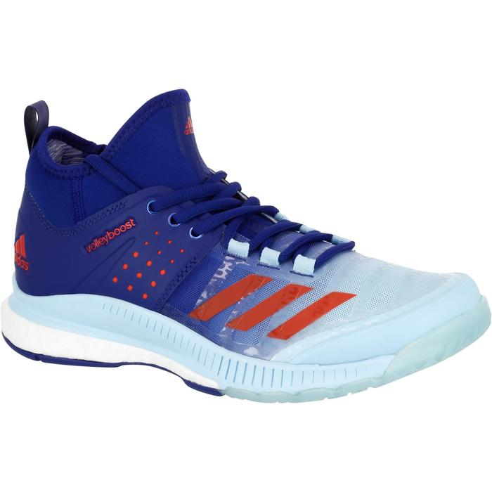 Chaussures de volley-ball femme Adidas Boost Crazyfligh bleues