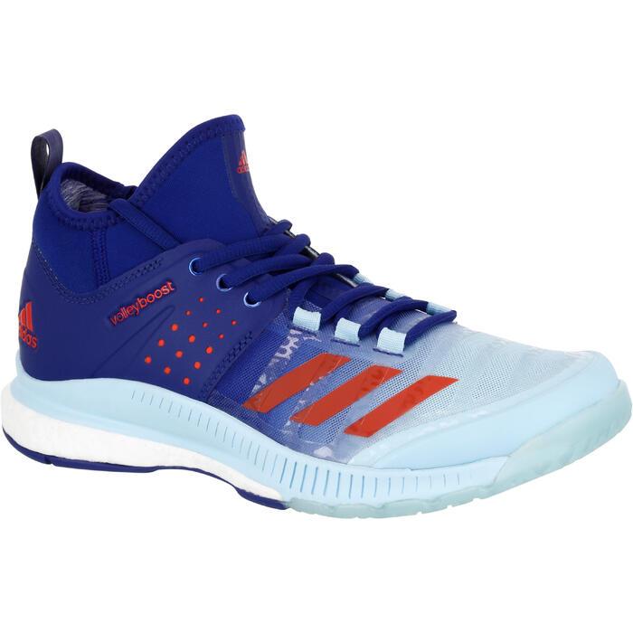 Zapatillas Voleibol Adidas Boost Crazyligh Azul Mujer