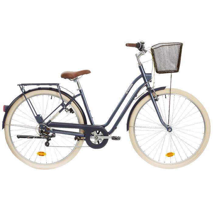City Bike 28 Zoll Elops 520 LF Damen blau