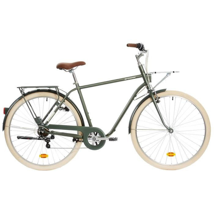 "City Bike 28"" Elops 520 HF Herren khaki"