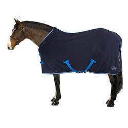 Zweetdeken Polar 500 voor pony en paard marineblauw