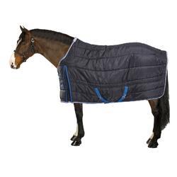 Staldeken 200gr ruitersport pony paard marineblauw
