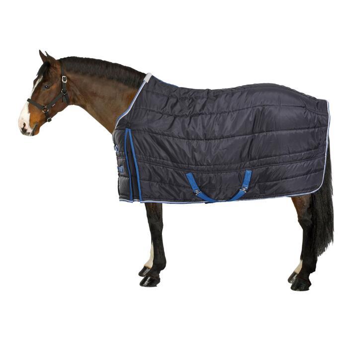 Stalldecke ST200 Pony/Pferd marineblau