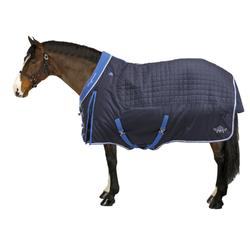 Stalldecke Stable 400 Pferd/Pony blau