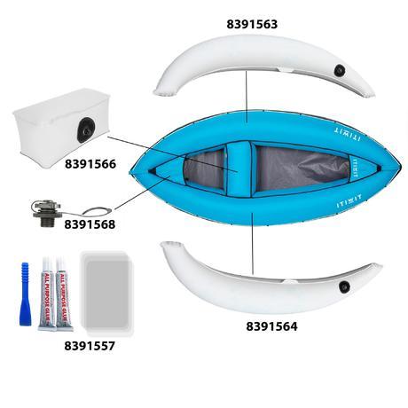 bateau gonflable easyboat 100 bleu itiwit. Black Bedroom Furniture Sets. Home Design Ideas