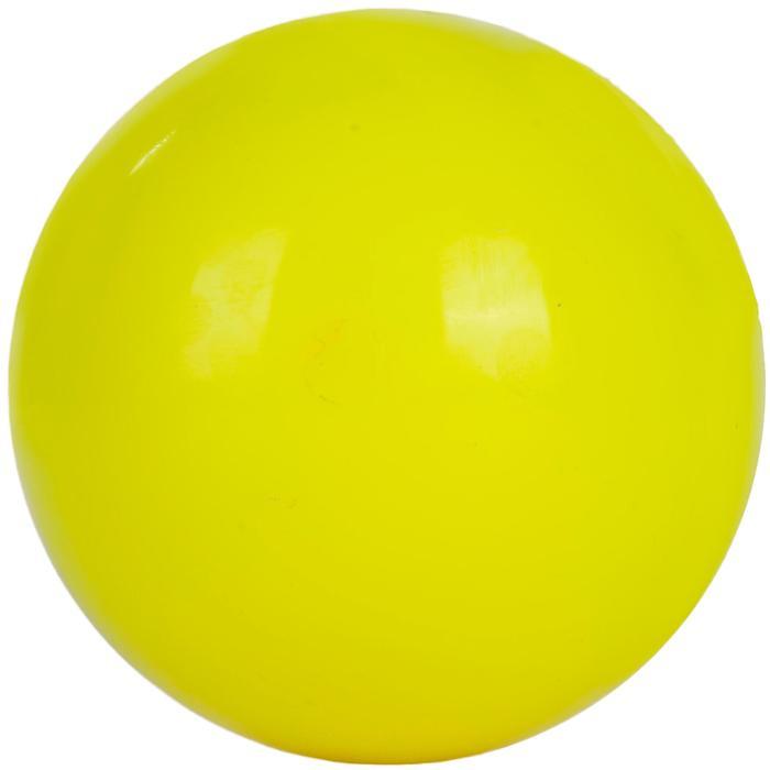 Balle de hockey sur gazon FH100 Jaune Fluo - 1212870