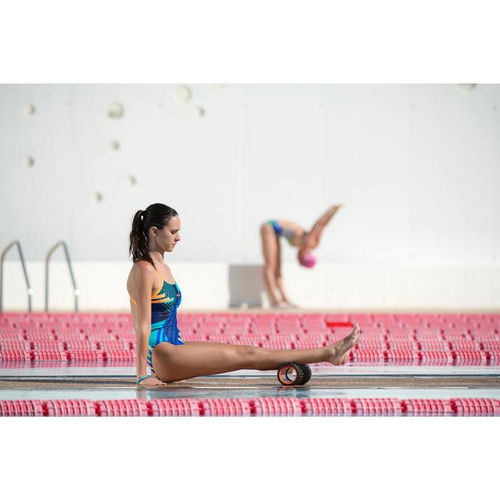 Maillot de bain de natation une pièce femme résistant au chlore Lidia bleu navy - 1212880