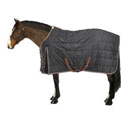 Staldeken ruitersport paard en pony ST200 donkergrijs