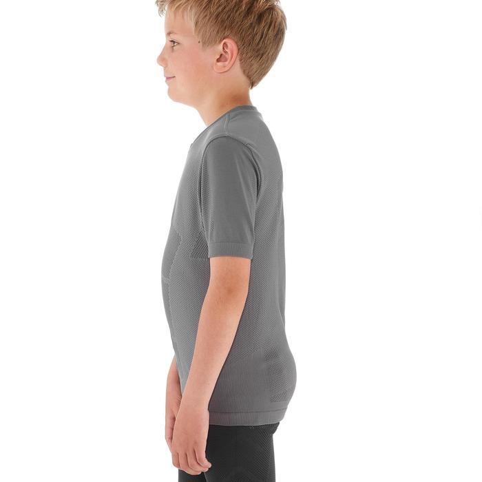 Tee shirt ski de fond junior gris - 1212910