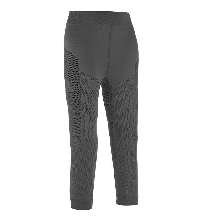 Sous vêtement bas ski de fond junior gris - 1212937
