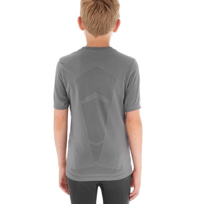 Tee shirt ski de fond junior gris - 1212942