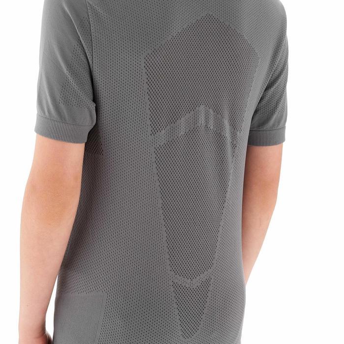 Tee shirt ski de fond junior gris - 1212965