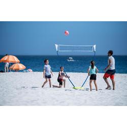 Red de voleibol y de voley playa BV 100 amarillo