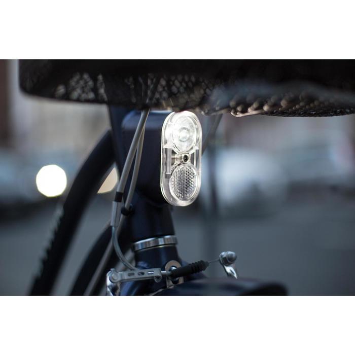 """City-Bike 28"""" Elops 520 tiefer Einstieg blau"""