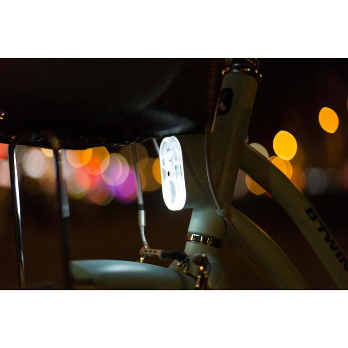 Stadsfiets Elops 520 laag frame mint