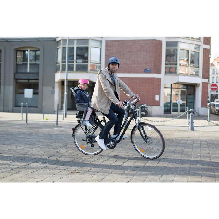 Elektrische stadsfiets Elops 900 E met hoog frame
