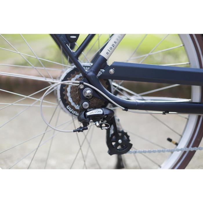 "E-Bike City Bike 28"" Elops 900E HF Herren blau"