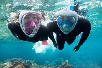 easybreath Decathlon snorkling Subea