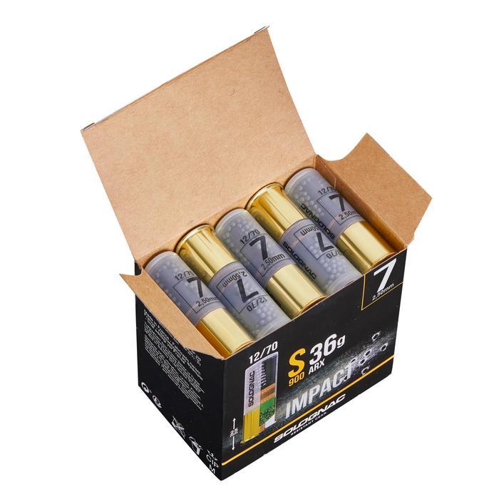 CARTUCHO S900 36 g IMPACT ARX CALIBRE 12/70 PERDIGÓN N°7 X25