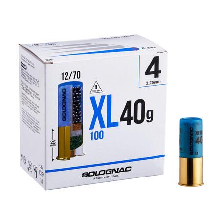 XL100 12 GAUGE CARTRIDGE 40g PB4 X25