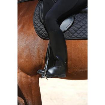 Bottes équitation adulte SCHOOLING noir - 121358