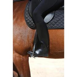 Bottes équitation adulte SCHOOLING noir