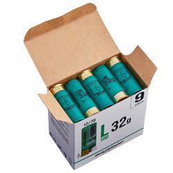 CARTUCHO L100 32 g 12/70 PERDIGONES N°9 X25