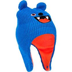 MONSTER 嬰幼兒滑雪運動怪獸帽 - 藍色