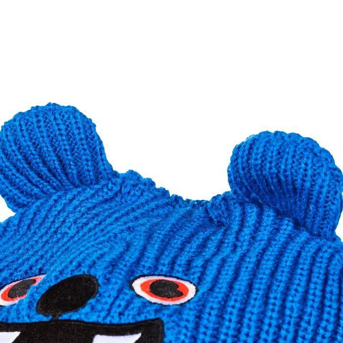 Bonnet de ski / luge bébé warm bleu