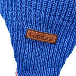 Bonnet de luge warm bleu bébé