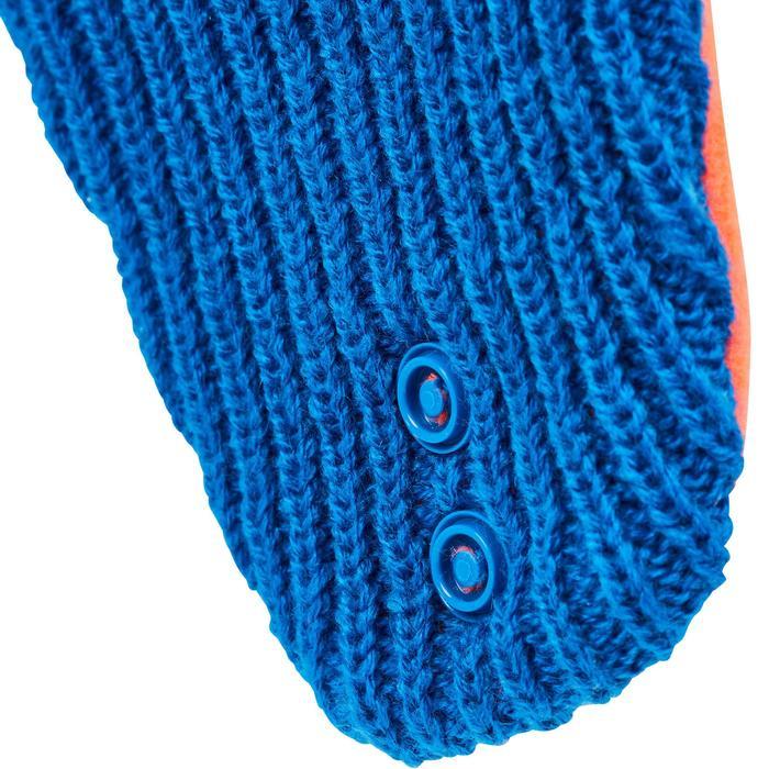 Sleemuts warm blauw baby