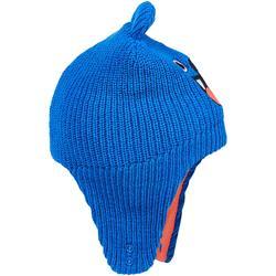 Mütze warm Baby blau