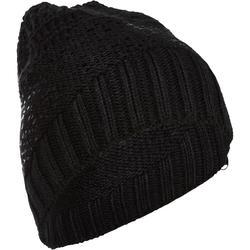 滑雪運動帽 - 金屬黑
