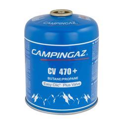 Ventil-Gaskartusche CV 470+ für Gaskocher (450 Gramm)