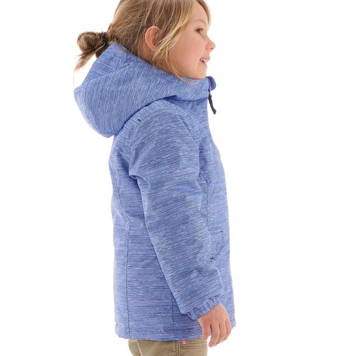 SH100 Warm Junior Snow Hiking Jacket - Mauve