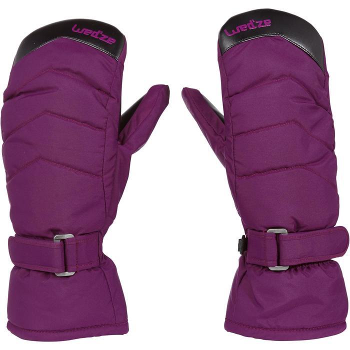 Wanten voor pisteskiën heren dames Slide 300 violet
