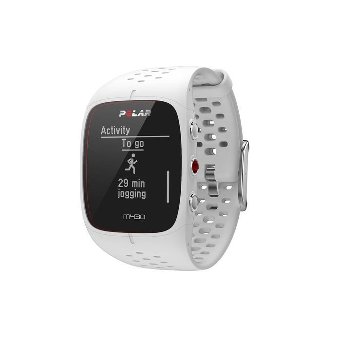 GPS-Pulsuhr M430 weiß