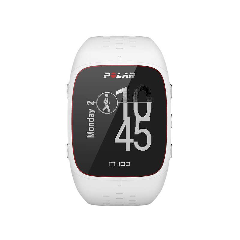 RELÓGIOS GPS CORRIDA Relógios, GPS, Monitores Atividade - Relógio GPS M430 branco POLAR - Relógios, GPS, Monitores Atividade